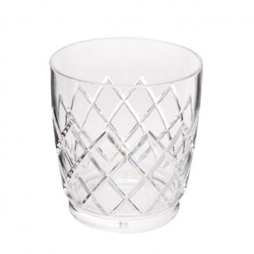 Yarai® Acrylic Stackable Double Rocks Glass